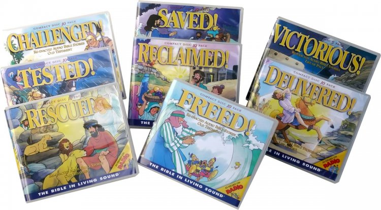 Bible Stories - Complete Set - Click Image to Close