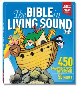 Bible Stories - MP3 on DVD