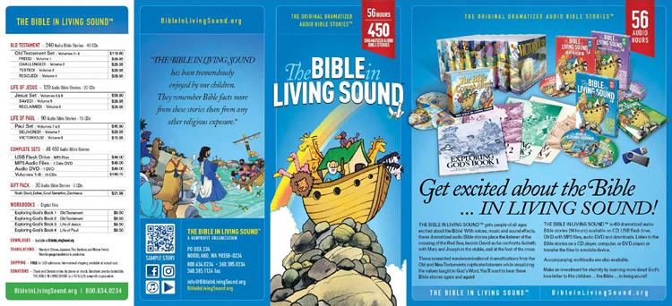 Bible In Living Sound brochure