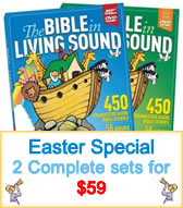 audio Bible story sale two sets for 59